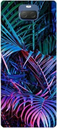Etui ROAR JELLY tropikalne fluo na Sony Xperia 10