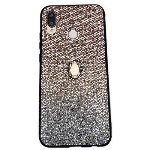 Etui SAMSUNG GALAXY A10 Stone Glitter złote