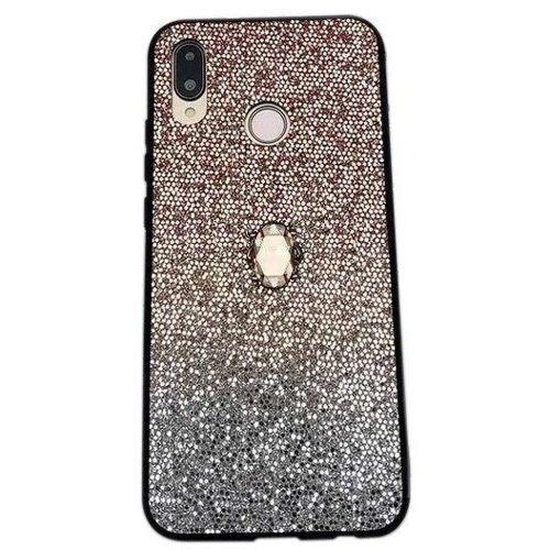 Etui SAMSUNG GALAXY A50 Stone Glitter złote