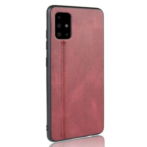 Etui Samsung Galaxy A51 skórzane Slim case czerwone