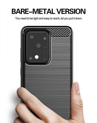 Etui Samsung Galaxy S20 Ultra Pancerne Carbon czarne