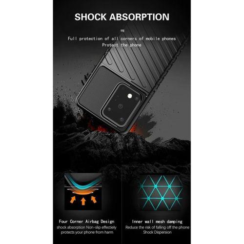 Etui Samsung Galaxy S20 Ultra Pancerne Thunder czarne