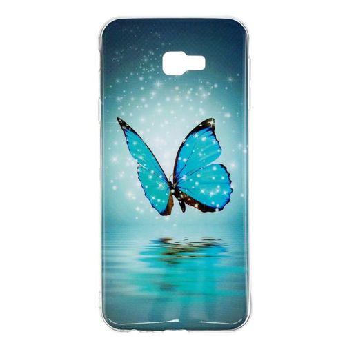 Etui Slim Art SAMSUNG J4+ J4 PLUS niebieski motyl