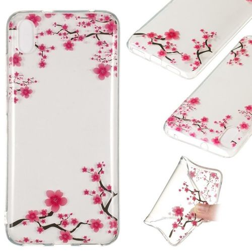 Etui Slim Case Art Wzory XIAOMI REDMI 7A różowe kwiaty
