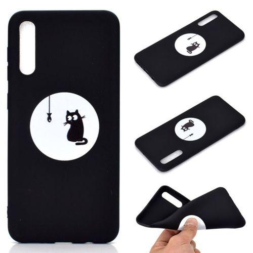 Etui Slim case Art  SAMSUNG GALAXY A50 Kot i ryba