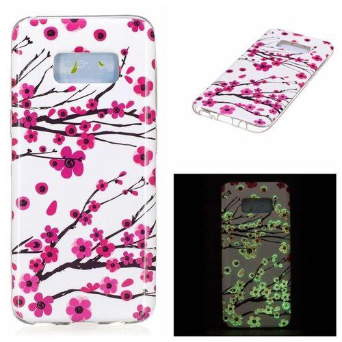 Etui Slim case Art obudowa wzory SAMSUNG GALAXY S8 zimowe słodkie kwiaty