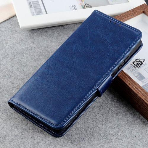 Etui XIAOMI MI NOTE 10 Skórzane z klapką portfel Flip Magnet niebieskie