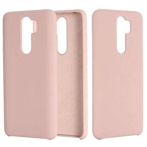 Etui XIAOMI REDMI 8A Silicone case elastyczne silikonowe różowe