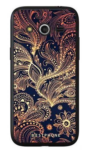 Etui art deco złote na Samsung Galaxy Core LTE