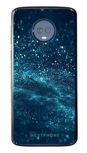 Etui brokatowy pył na Motorola Moto G6 Plus