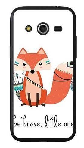 Etui dla dziecka odważny lisek na Samsung Galaxy Core LTE
