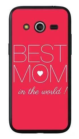 Etui dla mamy best mom na Samsung Galaxy Core LTE