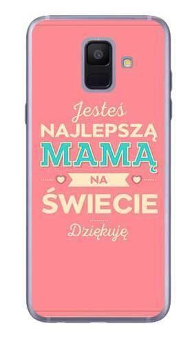 Etui dla mamy najlepsza mama na Samsung Galaxy A6