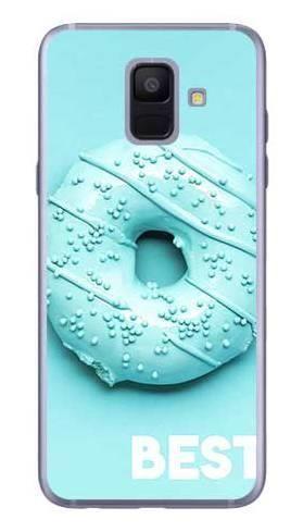 Etui dla przyjaciół friends donut niebieski na Samsung Galaxy A6