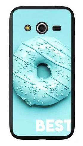 Etui dla przyjaciół friends donut niebieski na Samsung Galaxy Core LTE