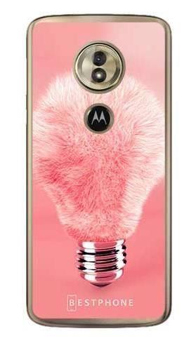 Etui futrzasta żarówka na Motorola Moto G6 Play