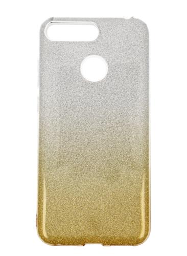 Etui glitter HUAWEI Y6 2018 złote