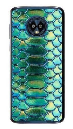 Etui holograficzna skóra węża na Motorola Moto G6