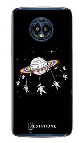 Etui karuzela na księżycu na Motorola Moto G6