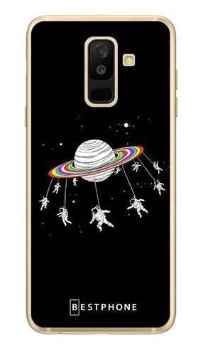 Etui karuzela na księżycu na Samsung Galaxy A6 Plus