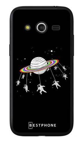 Etui karuzela na księżycu na Samsung Galaxy Core LTE