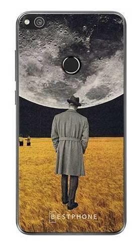 Etui kolaż księżyc na Huawei P9 Lite 2017