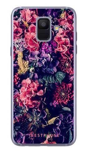Etui kwiatowa kompozycja na Samsung Galaxy A6