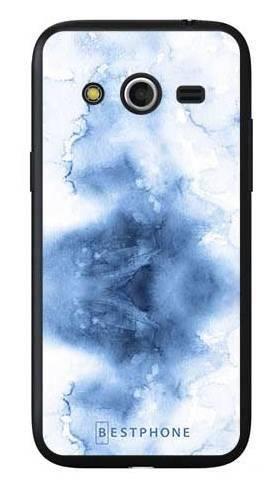Etui niebieska akwarela na Samsung Galaxy Core LTE