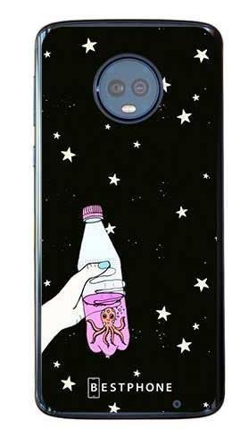 Etui ośmiornica w butece na Motorola Moto G6 Plus