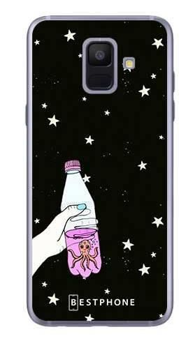 Etui ośmiornica w butece na Samsung Galaxy A6