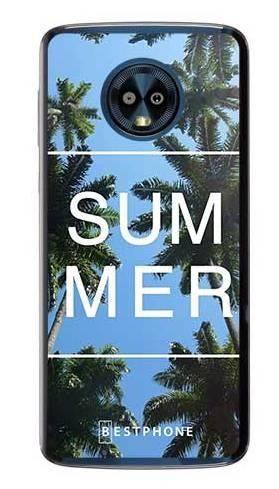 Etui palmy summer na Motorola Moto G6