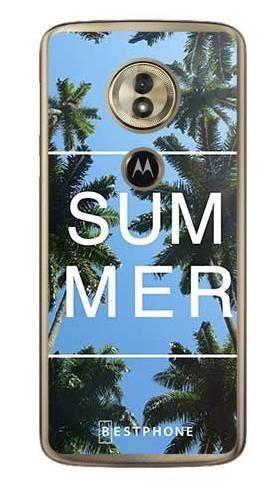 Etui palmy summer na Motorola Moto G6 Play