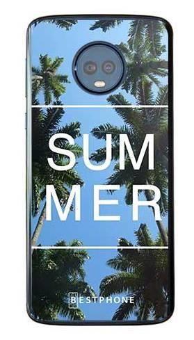 Etui palmy summer na Motorola Moto G6 Plus