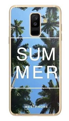 Etui palmy summer na Samsung Galaxy A6 Plus