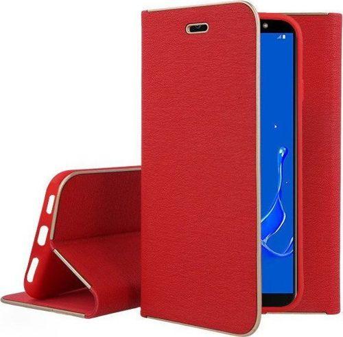 Etui portfel Nexeri Venus SAMSUNG GALAXY S6 czerwone