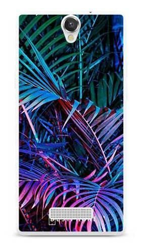 Etui tropikalne fluo na MyPhone Cube