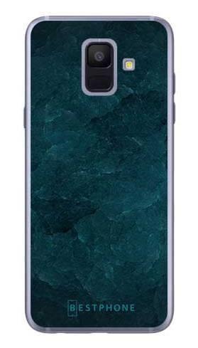 Etui turkusowy kamień na Samsung Galaxy A6