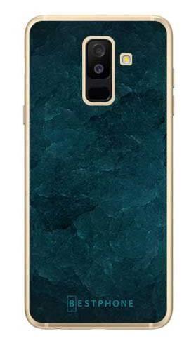 Etui turkusowy kamień na Samsung Galaxy A6 Plus