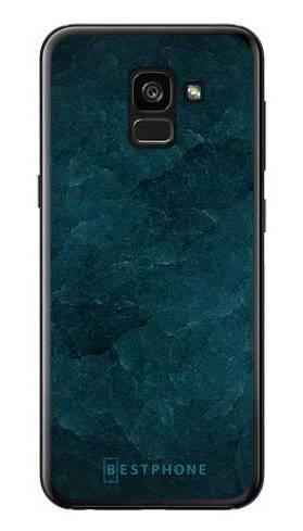 Etui turkusowy kamień na Samsung Galaxy A7 2018
