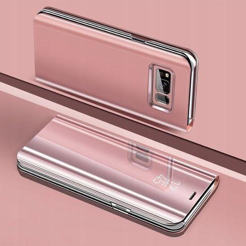 Etui z klapką Clear View Cover SAMSUNG GALAXY S9+ Plus różowe
