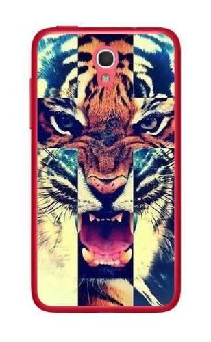FANCY Alcatel POP S3 tygrys krzyż
