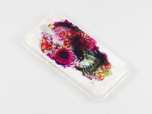 FANCY Samsung GALAXY S6 EDGE czaszka kwiaty