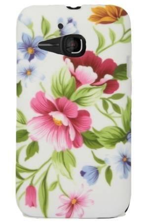 FLOWER Alcatel M'POP pastelowe kwiatki