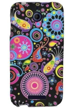 FLOWER HTC DESIRE 510 kolorowy wzór meduza