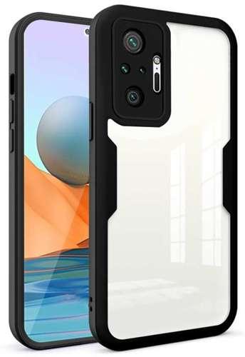 FULL BODY 360 pancerne etui pokrowiec Xiaomi Redmi NOTE 10 PRO czarny