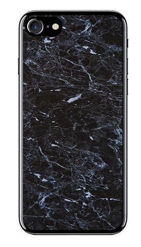 Foto Case Apple iPhone 7 / 8 czarny marmur