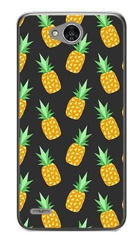 Foto Case LG X POWER 2 ananasy czarne
