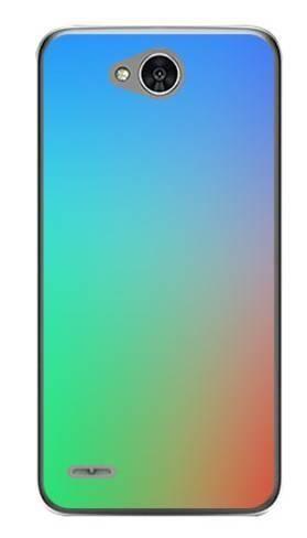 Foto Case LG X POWER 2 tęczowy gradient