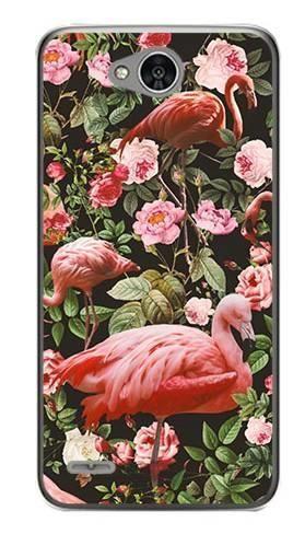 Foto Case LG X POWER 2 tropikalne flamingi