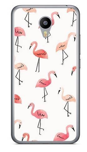 Foto Case Meizu M2 NOTE różowe flamingi